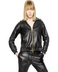 Giuseppe Zanotti Nappa Leather Jacket - Lyst