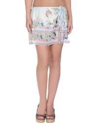 Miss Naory White Sarong - Lyst