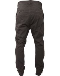 DRKSHDW by Rick Owens Easy Astaire Trouser Dark Dust - Lyst