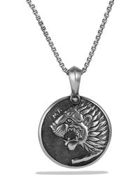 David Yurman Petrvs Lion Amulet - Lyst