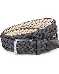 Duchamp | Plaited Leather Belt | Lyst