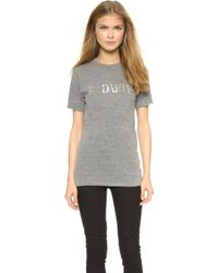 Rodarte Radarte T-Shirt - Heather Grey gray - Lyst