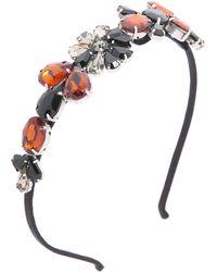 Marni - Strass Headband - Red - Lyst