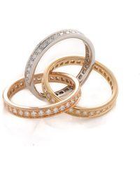 Cartier Trinity Ring - Lyst
