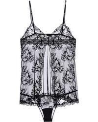 La Perla Black Underwear Set - Lyst