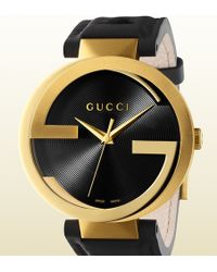 Gucci Latin Grammy Special Edition Interlocking Extra Large Watch gold - Lyst