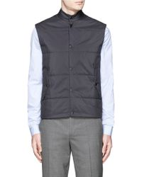 Paul Smith | Quilted Puffer Vest | Lyst