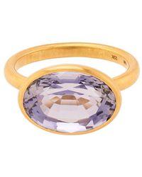 Marie-hélène De Taillac - Iolite & Yellow-Gold Ring - Lyst