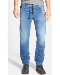 Diesel 'Waykee Jogg' Straight Leg Jeans - Lyst