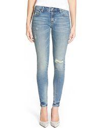 Earnest Sewn - 'jane' Skinny Jeans - Lyst