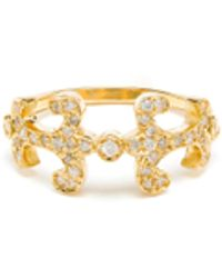 Sabine G 18K Gold And Diamond Oona Ring gold - Lyst