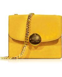 Marc Jacobs Mini Trouble Sunflower Yellow Suede Shoulder Bag - Lyst