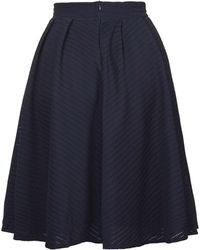 Wal-G | Pleated Lace Midi Skirt By | Lyst
