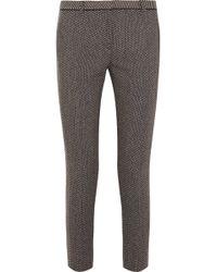 Nicole Farhi   Wool-Tweed Trousers   Lyst
