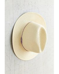 Urban Outfitters - Mexicali Straw Panama Hat - Lyst