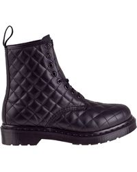 Dr. Martens Coralie Lace-Up Boot Black Leather - Lyst