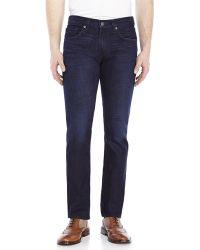 J Brand Dark Wash Tyler Perfect Slim Fit Jeans - Lyst