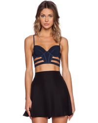 Sass & Bide Any Given Time Crop Top - Lyst