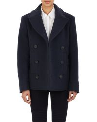 Givenchy - Women's Melton Double-breasted Peacoat - Lyst