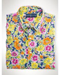 Polo Ralph Lauren Custom-fit Floral Shirt - Lyst