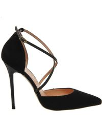 Office | Trapped Strap Point Court Heels | Lyst