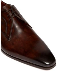 Saks Fifth Avenue - Extended Outsole Leather Derbies - Lyst