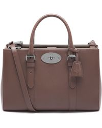 Mulberry Small Bayswater Double Zip Tote - Lyst
