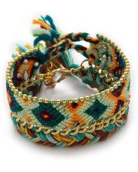 Antik Batik - Brasil Bracelet - Green - Lyst
