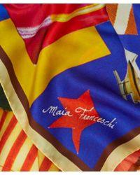 Maia Franceschi - Multicolour Bubaloo Silk Scarf - Lyst