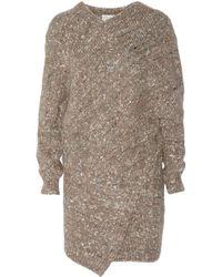 Stella McCartney Chunkyknit Woolblend Sweater Dress - Lyst
