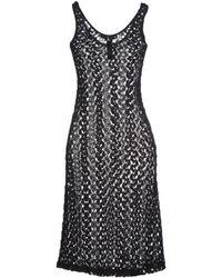 Aquascutum Knee-length Dress - Lyst
