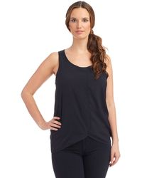 French Connection Scoop Neck Tank - Lyst