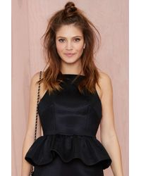 Nasty Gal Finders Keepers Mesmerize Ruffled Top - Lyst