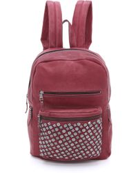 Ash - Studded Backpack Wine - Lyst