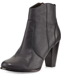 Joie Dalton Leather Ankle Boot - Lyst