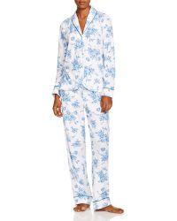 Carole Hochman - Periwinkle Jubilee Long Pyjama Set - Lyst