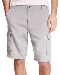 Joe's Jeans Cargo Jogger Shorts gray - Lyst