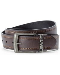 Levi's Reversible Bonded Leather Belt - Lyst