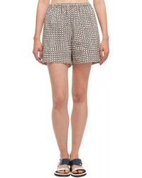 Suno Elastic Waist Shorts - Lyst