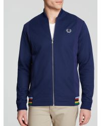 Fred Perry Bomber Neck Track Jacket - Lyst