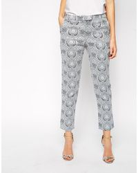 TFNC Tailored Pant In Jacquard - Lyst