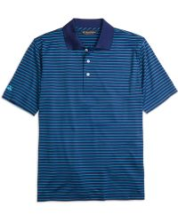 Brooks Brothers St Andrews Links Fine Stripe Polo Shirt - Lyst