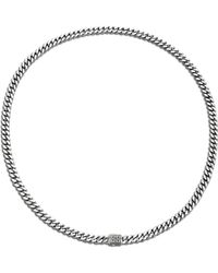 John Hardy Classic Chain Small Link Necklace silver - Lyst