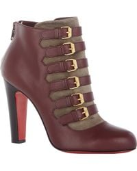 Christian Louboutin Attroupee Ankle Boots - Lyst