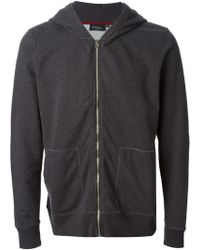 Paul Smith Stitching Detail Hoodie - Lyst