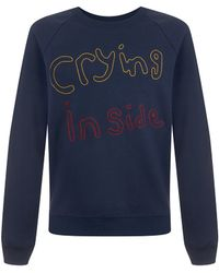 House of Holland | Crying Inside Sweatshirt | Lyst