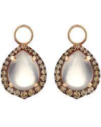 Annoushka Rose Quartz Earring Drops - Lyst