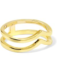Kevia - Gold-plated Ring - Lyst