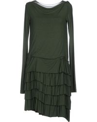 Philosophy di Alberta Ferretti Short Dress green - Lyst