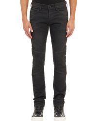 J Brand Bearden Moto Jeans - Lyst